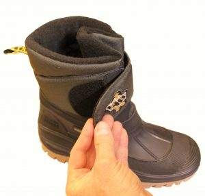 vass-fleece-lined-short-fishing-boot-with-velcro-fastening-image-of-ve